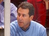 Bruce Levenson watches an Atlanta Thrashers ice hockey game on January 24, 2006