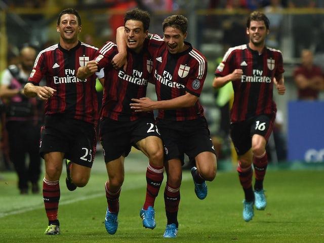 Result: Bonaventura double sees Milan win