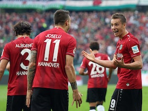Bremen share six goals with Hannover