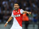 Monaco's Portuguese midfielder Joao Moutinho gestures during the French L1 football match between Bordeaux (FCGB) and Monaco (ASM) on August 17, 2014
