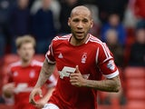 Kelvin Wilson of Nottingham Forest during the Sky Bet Championship match between Nottingham Forest and Millwall at City Ground on April 05, 2014
