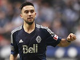 Pedro Morales #77 of the Vancouver Whitecaps FC during their MLS game against the Colorado Rapids April 5, 2014
