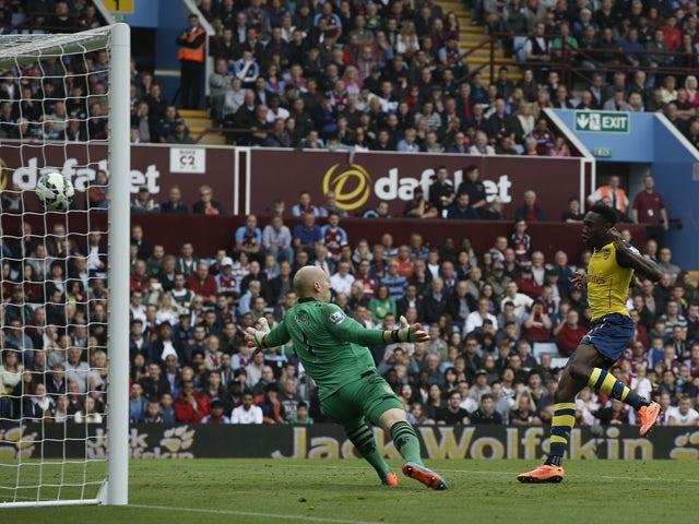 Result: First-half Gunners blitz destroys Villa