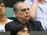 Avram Grant attends the Ladies' Singles third round matcj between Serena Williams of the United States of America and Kimiko Date-Krumm of Japan on day six of the Wimbledon Lawn Tennis Championships at the All England Lawn Tennis and Croquet Club on June
