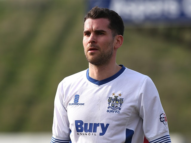 Result: Bury climb to top of the table with win