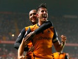 Danny Batth of Wolverhampton Wanderers celebrates his goal during the Sky Bet Championship match against Charlton Athletic on September 16, 2014