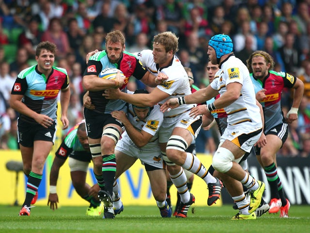 Result: Harlequins narrowly beat Wasps