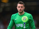 Jake Kean of Blackburn Rovers during the Sky Bet Championship match between Blackburn Rovers and Huddersfield Town at Ewood Park on September 21, 2013