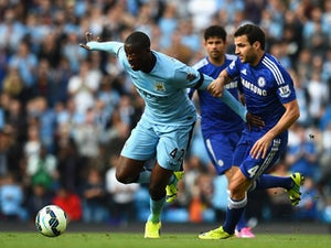 Team News: Toure starts for Man City