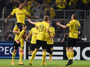 Aubameyang fires Dortmund ahead