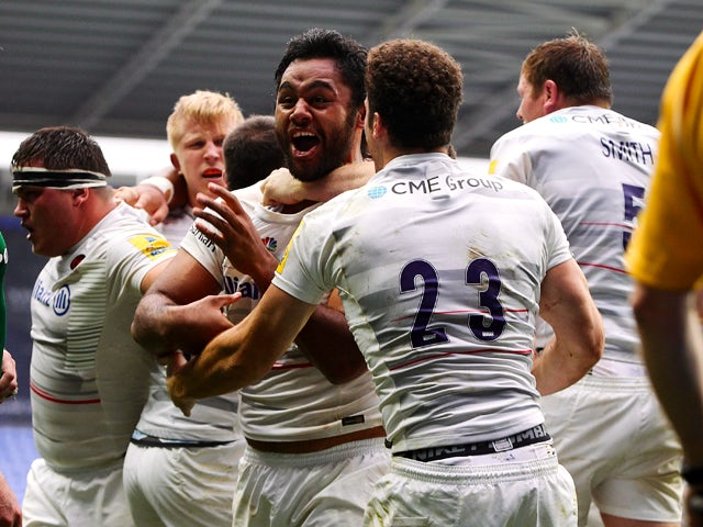 Result: Last-gasp Vunipola try gives Saracens win