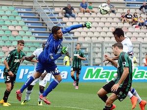 Sampdoria, Sassuolo share spoils