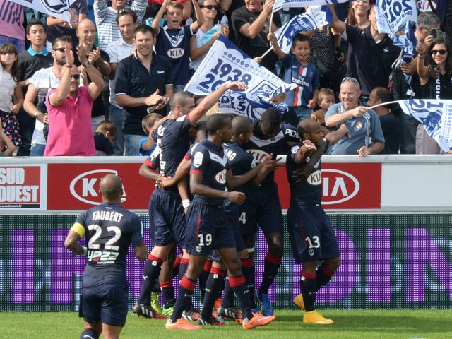 Result: Bordeaux advance with comfortable win