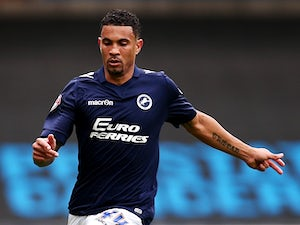 Carlos Edwards of Millwall in action during the Sky Bet Championship match between Millwall and Blackpool at The Den on August 30, 2014