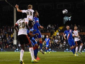 Fulham hold on for first win in a month