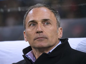 Maribor's head coach Darko Milanic looks on prior to the start of the UEFA Europa League football match NK Maribor vs. S.S. Lazio in Maribor, on December 6, 2012