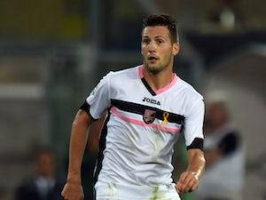 Vazquez puts Palermo ahead at Roma