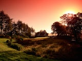 A general view of the 6th green during the Morning Fourballs of the 2014 Ryder Cup on the PGA Centenary course at Gleneagles on September 26, 2014