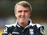 Lee Clark of Birmingham City looks on prior to the Pre Season Friendly match between Notts County and Birmingham City at Meadow Lane on July 29, 2014