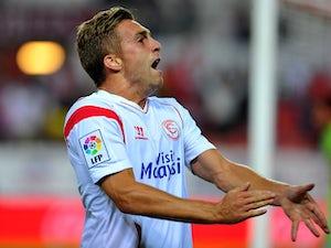 Aspas hat-trick helps Sevilla hammer Sabadell