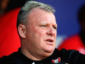 Steve Evans, manager of Rotherham United during the Pre Season Friendly match between Rotherham United and Nottingham Forest at The New York Stadium on July 23, 2014