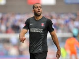 Tal Ben Haim of Charlton during Sky Bet Championship match between Huddersfield Town and Charlton Athletic at Galpharm Stadium on August 23, 2014