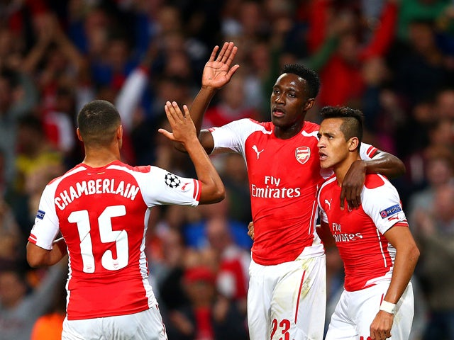 Result: Ten-man Arsenal thrash Galatasaray