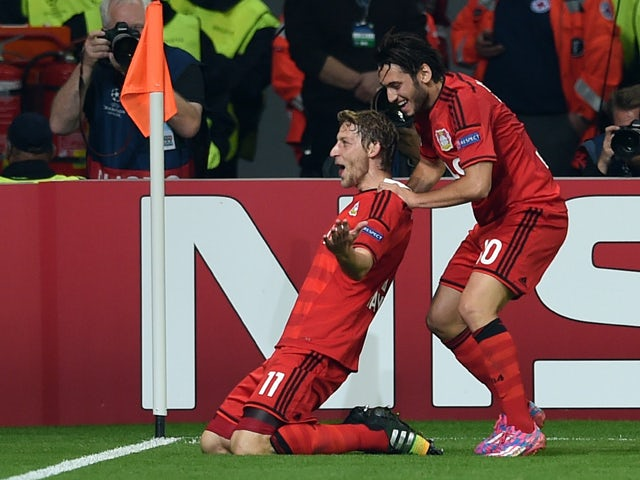 Result: Leverkusen stroll to Benfica win