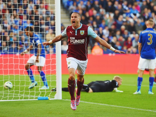 Result: Leicester pegged back by Burnley