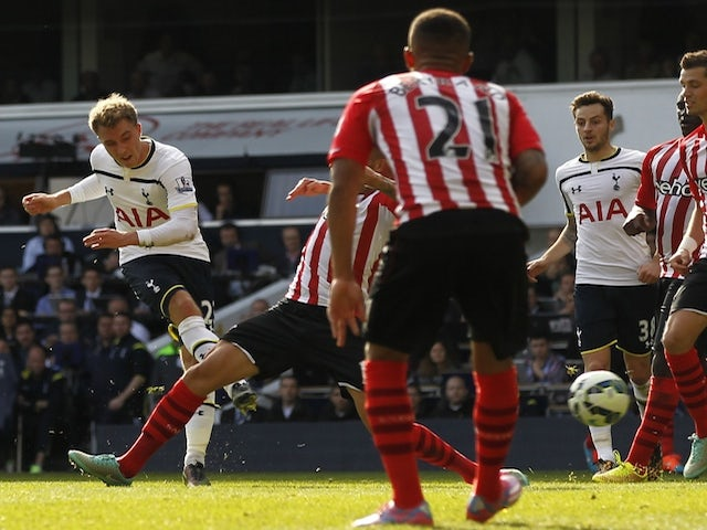 Result: Spurs earn narrow win over Southampton