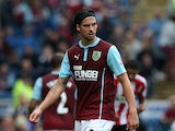 George Boyd of Burnley looks on during the Braclays Premier League match between Burnley and Sunderland at Turf Moor on September 20, 2014