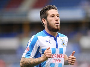 Huddersfield lead Ipswich at break