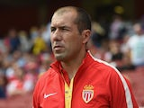 Monaco manager Leonardo Jardim looks on during the Emirates Cup match between Valencia and AS Monaco at the Emirates Stadium on August 2, 2014