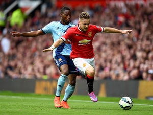 Van Gaal pleased to see Shaw in U-21s