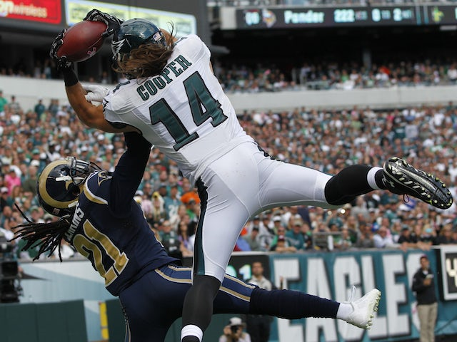 Result: Eagles survive Rams fightback