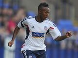 Rob Hall of Bolton Wanderers in action during the pre season friendly match between Bolton Wanderers and Real Betis at Reebok Stadium on July 26, 2013