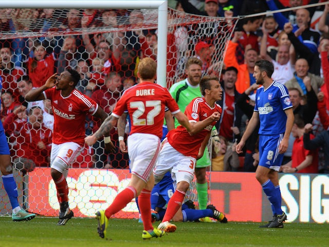 Result: Forest earn late draw with Ipswich