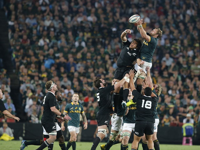 Result: Late penalty seals South Africa win
