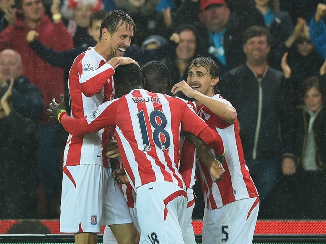 Result: Crouch guides Stoke past Newcastle
