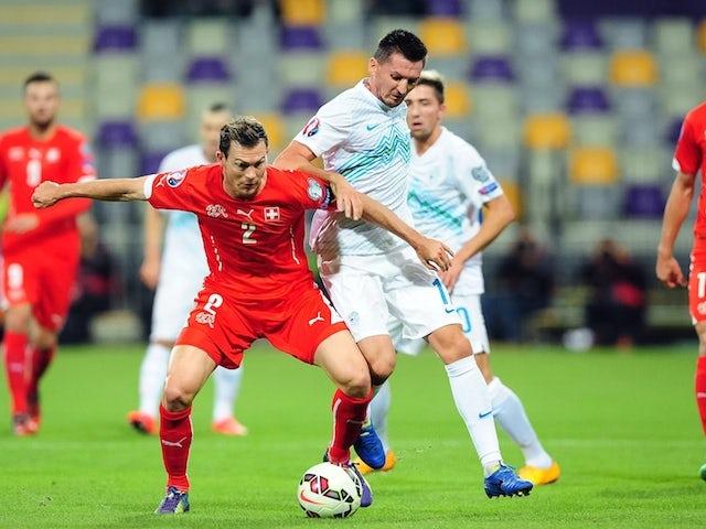 Result: Slovenia snatch win over Switzerland
