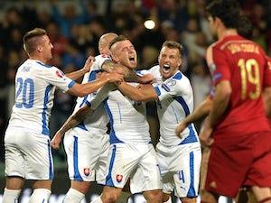 Slovakia shock Spain
