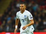Kieran Gibbs of England in action during the EURO 2016 Group E Qualifying match between England and San Marino at Wembley Stadium on October 9, 2014