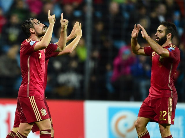 Result: Spain cruise to victory over Luxembourg