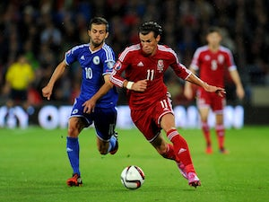 Wales share draw with Bosnia