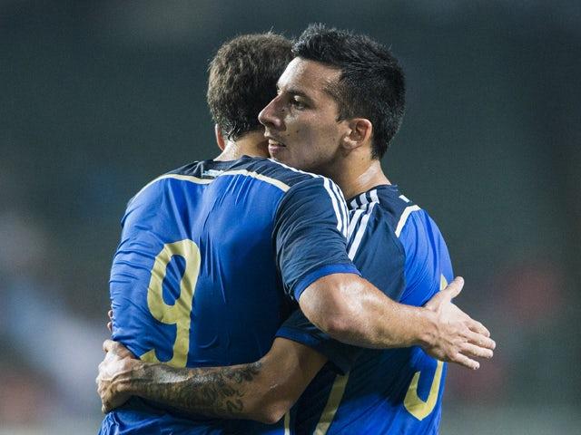 Result: Argentina put seven past Hong Kong