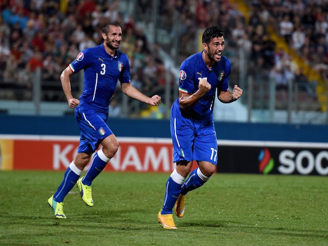 Result: Pelle fires Italy to victory