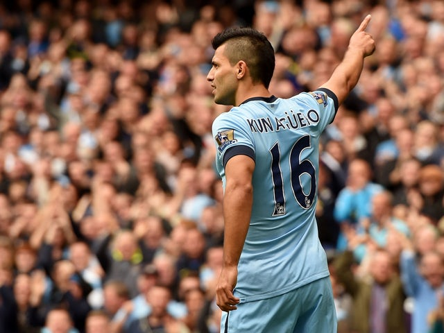Result: Aguero puts four past Spurs