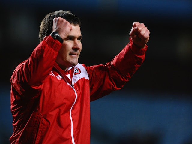 "Clough delighted by ""deserved"" win"