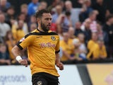 Robbie Willmott of Newport County in action during the Sky Bet League Two match between Newport County and Northampton Town at Rodney Parade on September 13, 2014