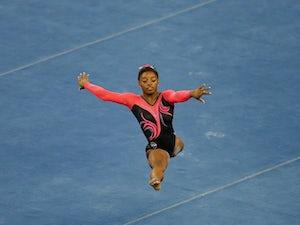 USA's Biles wins five at World Championships